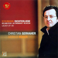 CD-Cover Dichterliebe, Christian Gerhaher
